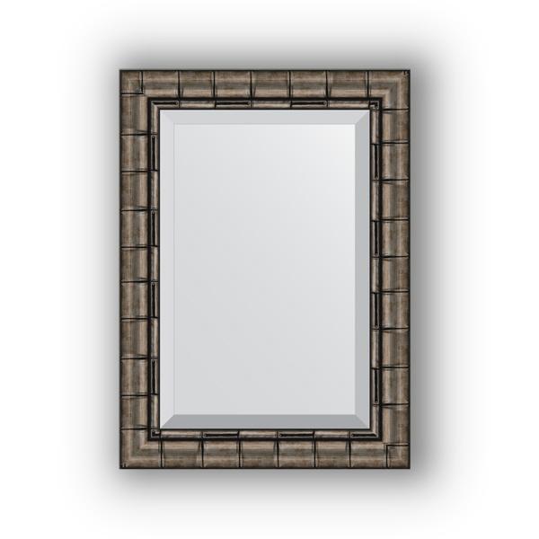 Зеркало EvoformЗеркала<br>Высота: 530,<br>Ширина: 730,<br>Форма зеркала: прямоугольник,<br>Назначение: для ванной, прихожей, гостиной,<br>Зеркало в багете: есть,<br>Цвет рамы: старый бамбук,<br>Коллекция: EXCLUSIVE<br>