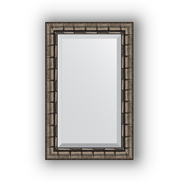 Зеркало EvoformЗеркала<br>Высота: 530,<br>Ширина: 830,<br>Форма зеркала: прямоугольник,<br>Назначение: для ванной, прихожей, гостиной,<br>Зеркало в багете: есть,<br>Цвет рамы: старый бамбук,<br>Коллекция: EXCLUSIVE<br>