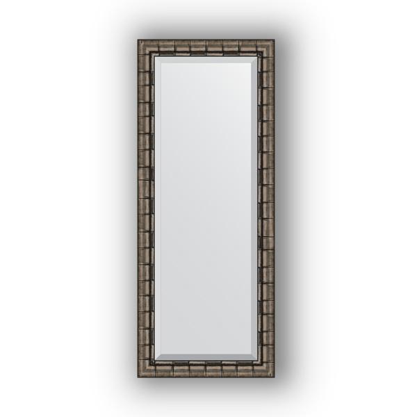 Зеркало EvoformЗеркала<br>Высота: 580,<br>Ширина: 1430,<br>Форма зеркала: прямоугольник,<br>Назначение: для ванной, прихожей, гостиной,<br>Зеркало в багете: есть,<br>Цвет рамы: старый бамбук,<br>Коллекция: EXCLUSIVE<br>