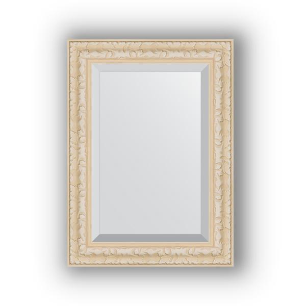 Зеркало EvoformЗеркала<br>Высота: 550,<br>Ширина: 750,<br>Форма зеркала: прямоугольник,<br>Назначение: для ванной, прихожей, гостиной,<br>Зеркало в багете: есть,<br>Цвет рамы: старый гипс,<br>Коллекция: EXCLUSIVE<br>