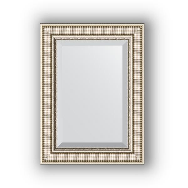 Зеркало EvoformЗеркала<br>Высота: 570,<br>Ширина: 770,<br>Форма зеркала: прямоугольник,<br>Назначение: для ванной, прихожей, гостиной,<br>Зеркало в багете: есть,<br>Цвет рамы: серебряный акведук,<br>Коллекция: EXCLUSIVE<br>