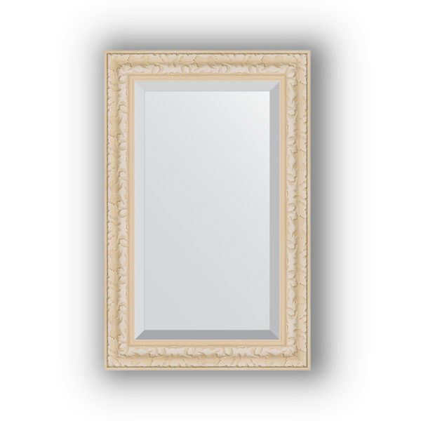 Зеркало EvoformЗеркала<br>Высота: 550,<br>Ширина: 850,<br>Форма зеркала: прямоугольник,<br>Назначение: для ванной, прихожей, гостиной,<br>Зеркало в багете: есть,<br>Цвет рамы: старый гипс,<br>Коллекция: EXCLUSIVE<br>