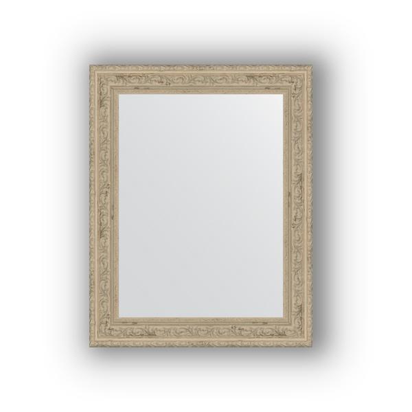 Зеркало EvoformЗеркала<br>Высота: 400,<br>Ширина: 500,<br>Форма зеркала: прямоугольник,<br>Назначение: для ванной, прихожей, гостиной,<br>Зеркало в багете: есть,<br>Цвет рамы: слоновая кость,<br>Коллекция: DEFINITE<br>