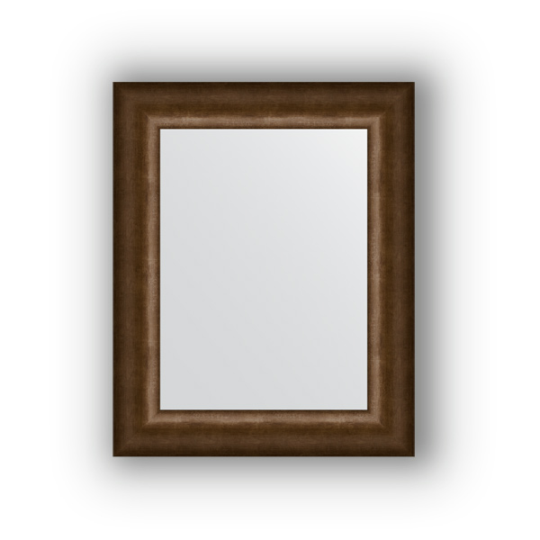 Зеркало EvoformЗеркала<br>Высота: 420,<br>Ширина: 520,<br>Форма зеркала: прямоугольник,<br>Назначение: для ванной, прихожей, гостиной,<br>Зеркало в багете: есть,<br>Цвет рамы: старая бронза,<br>Коллекция: DEFINITE<br>