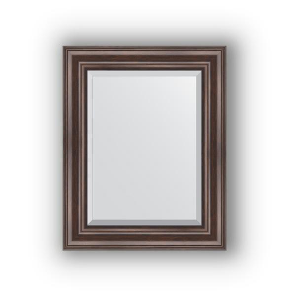 Зеркало EvoformЗеркала<br>Высота: 420,<br>Ширина: 520,<br>Форма зеркала: прямоугольник,<br>Назначение: для ванной, прихожей, гостиной,<br>Зеркало в багете: есть,<br>Цвет рамы: палисандр,<br>Коллекция: EXCLUSIVE<br>