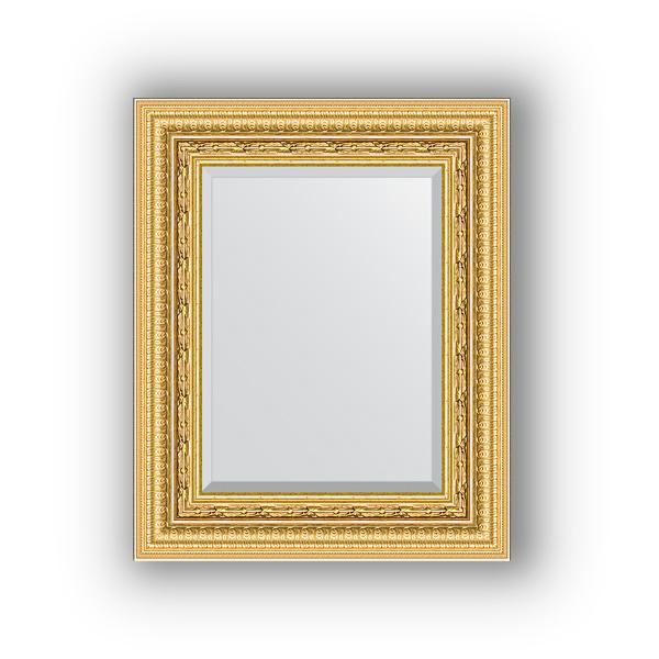 Зеркало EvoformЗеркала<br>Высота: 450,<br>Ширина: 550,<br>Форма зеркала: прямоугольник,<br>Назначение: для ванной, прихожей, гостиной,<br>Зеркало в багете: есть,<br>Цвет рамы: сусальное золото,<br>Коллекция: EXCLUSIVE<br>