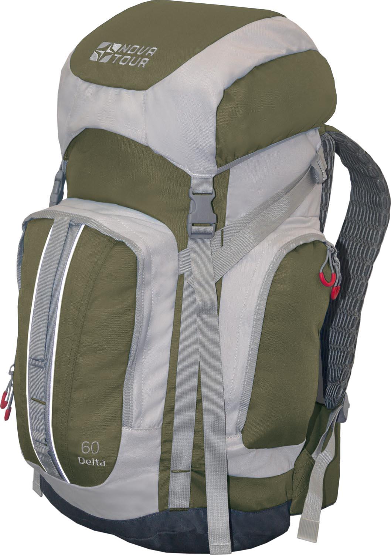 Рюкзак Nova tourРюкзаки<br>Назначение рюкзака: туристический,<br>Тип конструкции: станковый,<br>Тип: рюкзак,<br>Объем: 60,<br>Число лямок: 2,<br>Высота: 750,<br>Ширина: 250,<br>Толщина: 220,<br>Материал: полиэстер,<br>Цвет: зеленый,<br>Боковые карманы: есть,<br>Фронтальный карман: есть,<br>Боковая стяжка: есть,<br>Верхний карман: есть,<br>Вентилируемые лямки: есть<br>