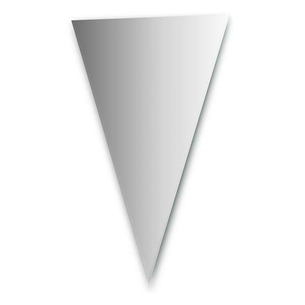 Зеркало FbsЗеркала<br>Высота: 1100,<br>Ширина: 700,<br>Форма зеркала: треугольник,<br>Назначение: для ванной, прихожей,<br>Коллекция: PERFECTA<br>
