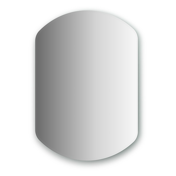 Зеркало FbsЗеркала<br>Высота: 750,<br>Ширина: 550,<br>Форма зеркала: сложная,<br>Назначение: для ванной, прихожей,<br>Коллекция: PERFECTA<br>