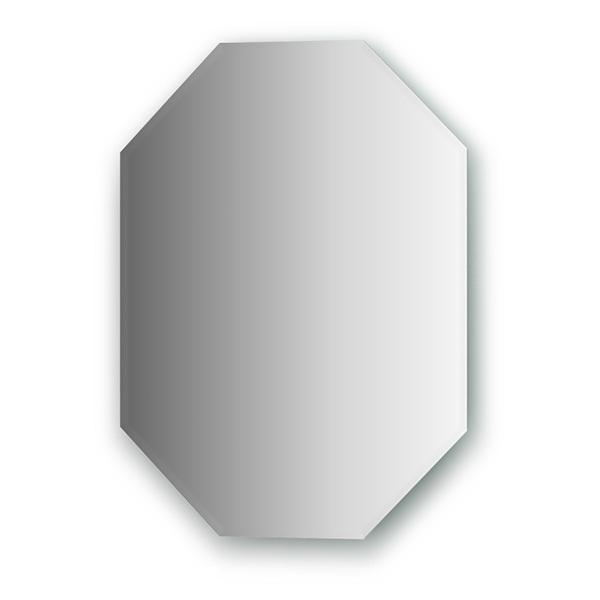 Зеркало FbsЗеркала<br>Высота: 600, Ширина: 450, Форма зеркала: восьмиугольник, Назначение: для ванной, прихожей, Коллекция: PERFECTA<br>