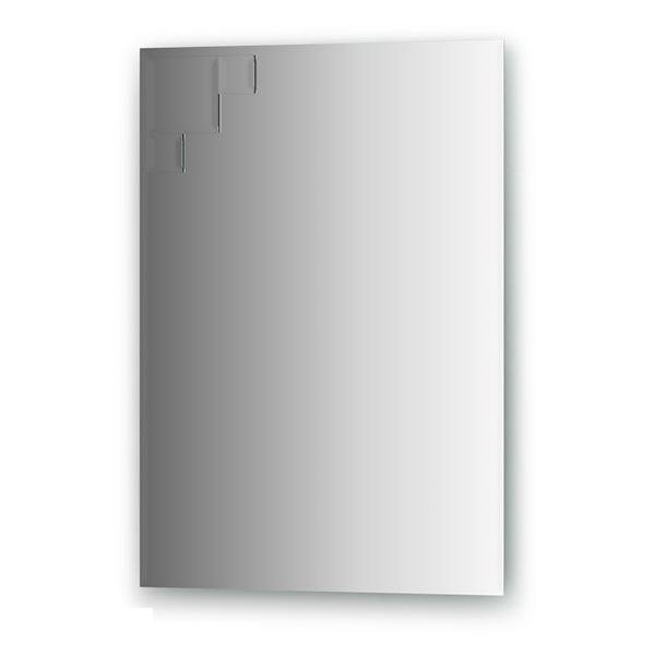 Зеркало FbsЗеркала<br>Высота: 700,<br>Ширина: 500,<br>Форма зеркала: прямоугольник,<br>Назначение: для ванной, прихожей, гостиной,<br>Коллекция: DECORA<br>