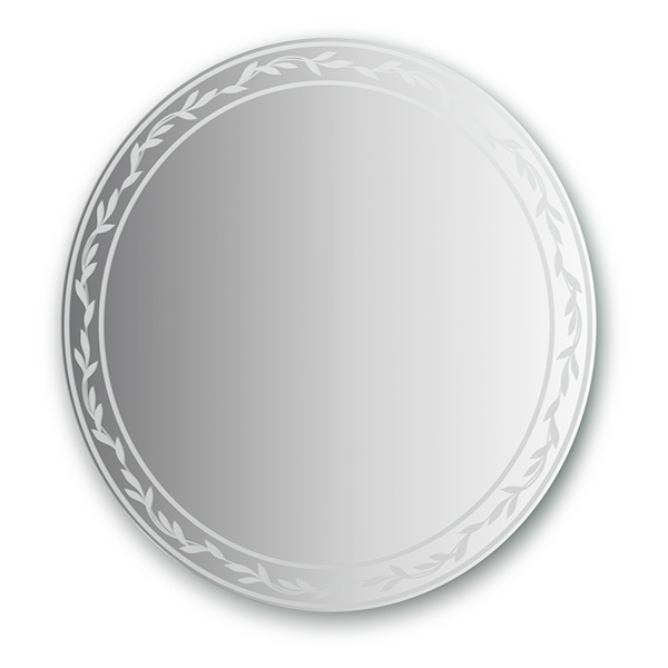 Зеркало FbsЗеркала<br>Высота: 800,<br>Ширина: 800,<br>Форма зеркала: круг,<br>Назначение: для ванной, прихожей, гостиной,<br>Коллекция: ARTISTICA<br>