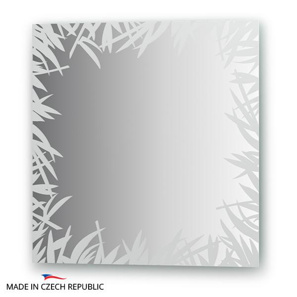 Зеркало FbsЗеркала<br>Высота: 600,<br>Ширина: 600,<br>Форма зеркала: квадрат,<br>Назначение: для ванной, прихожей, гостиной,<br>Коллекция: ARTISTICA<br>