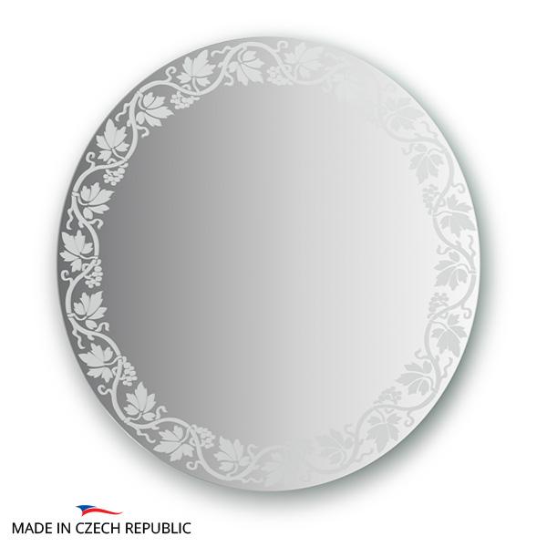 Зеркало FbsЗеркала<br>Высота: 600, Ширина: 600, Форма зеркала: круг, Назначение: для ванной, прихожей, гостиной, Коллекция: ARTISTICA<br>