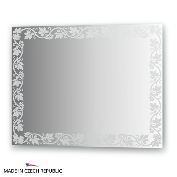 Зеркало FbsЗеркала<br>Высота: 600,<br>Ширина: 800,<br>Форма зеркала: прямоугольник,<br>Назначение: для ванной, прихожей, гостиной,<br>Коллекция: ARTISTICA<br>