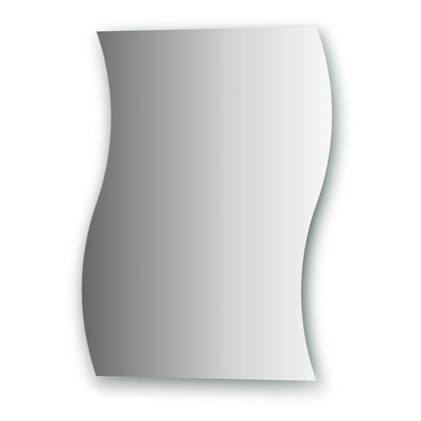 Зеркало FbsЗеркала<br>Высота: 650,<br>Ширина: 500,<br>Форма зеркала: сложная,<br>Назначение: для ванной, прихожей,<br>Коллекция: PRACTICA<br>