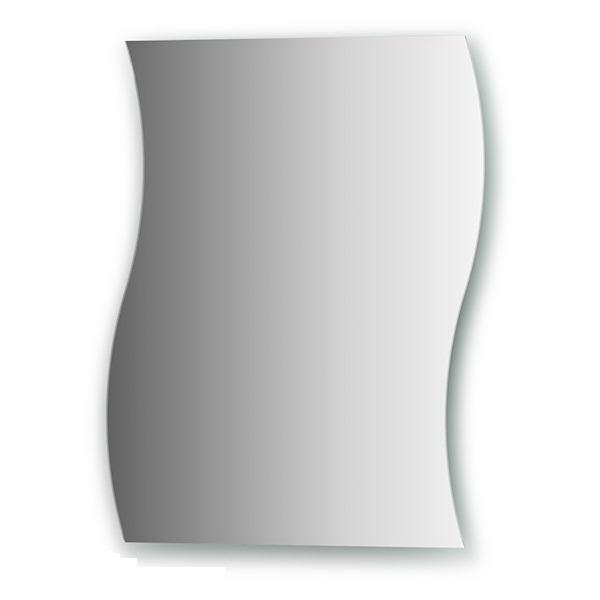 Зеркало FbsЗеркала<br>Высота: 500,<br>Ширина: 400,<br>Форма зеркала: сложная,<br>Назначение: для ванной, прихожей,<br>Коллекция: PRACTICA<br>