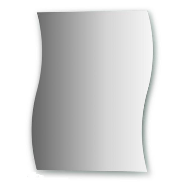 Зеркало FbsЗеркала<br>Высота: 550, Ширина: 450, Форма зеркала: сложная, Назначение: для ванной, прихожей, Коллекция: PRACTICA<br>