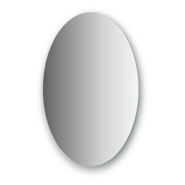 Зеркало EvoformЗеркала<br>Высота: 600,<br>Ширина: 400,<br>Форма зеркала: овал,<br>Назначение: для ванной, прихожей,<br>Коллекция: PRIMARY<br>