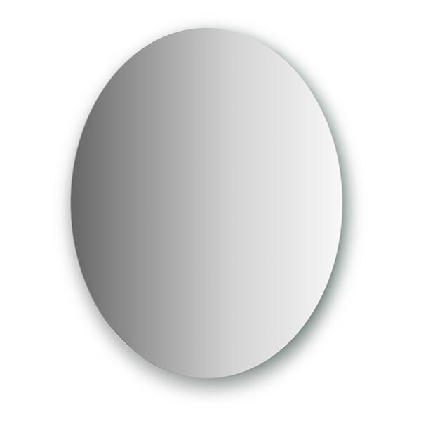 Зеркало EvoformЗеркала<br>Высота: 600,<br>Ширина: 500,<br>Форма зеркала: овал,<br>Назначение: для ванной, прихожей,<br>Коллекция: PRIMARY<br>