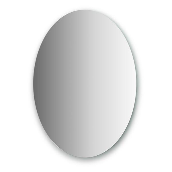 Зеркало EvoformЗеркала<br>Высота: 800, Ширина: 600, Форма зеркала: овал, Назначение: для ванной, прихожей, Коллекция: PRIMARY<br>