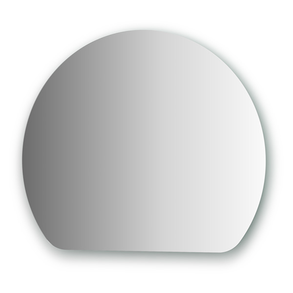 Зеркало EvoformЗеркала<br>Высота: 550,<br>Ширина: 650,<br>Форма зеркала: сложная,<br>Назначение: для ванной, прихожей,<br>Коллекция: PRIMARY<br>