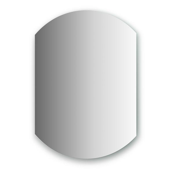Зеркало EvoformЗеркала<br>Высота: 750, Ширина: 550, Форма зеркала: сложная, Назначение: для ванной, прихожей, Коллекция: PRIMARY<br>