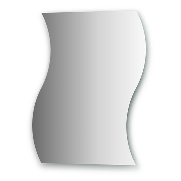 Зеркало EvoformЗеркала<br>Высота: 750,<br>Ширина: 600,<br>Форма зеркала: сложная,<br>Назначение: для ванной, прихожей,<br>Коллекция: PRIMARY<br>