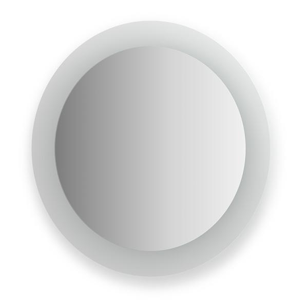Зеркало EvoformЗеркала<br>Высота: 600,<br>Ширина: 600,<br>Форма зеркала: круг,<br>Назначение: для ванной, прихожей, гостиной,<br>Коллекция: FASHION<br>