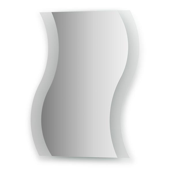 Зеркало EvoformЗеркала<br>Высота: 750,<br>Ширина: 600,<br>Форма зеркала: сложная,<br>Назначение: для ванной, прихожей, гостиной,<br>Коллекция: FASHION<br>