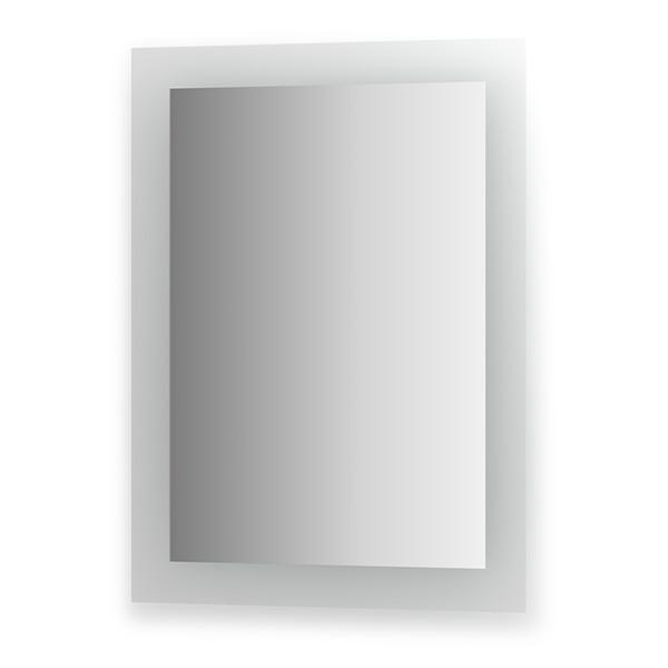 Зеркало EvoformЗеркала<br>Высота: 800,<br>Ширина: 600,<br>Форма зеркала: прямоугольник,<br>Назначение: для ванной, прихожей, гостиной,<br>Коллекция: FASHION<br>