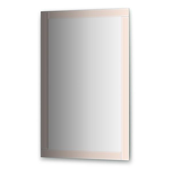 Зеркало EvoformЗеркала<br>Высота: 1100, Ширина: 700, Форма зеркала: прямоугольник, Назначение: для ванной, прихожей, гостиной, Коллекция: STYLE<br>