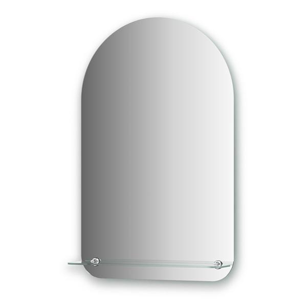 Зеркало EvoformЗеркала<br>Высота: 800, Ширина: 500, Форма зеркала: арка, Назначение: для ванной, прихожей, Полка: есть, Коллекция: OPTIMA<br>