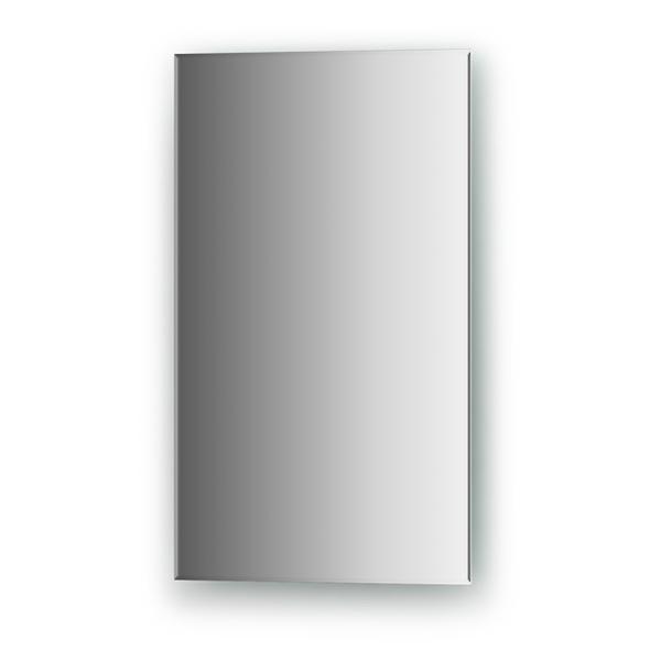 Зеркало EvoformЗеркала<br>Высота: 500, Ширина: 300, Форма зеркала: прямоугольник, Назначение: для ванной, прихожей, Коллекция: STANDARD<br>