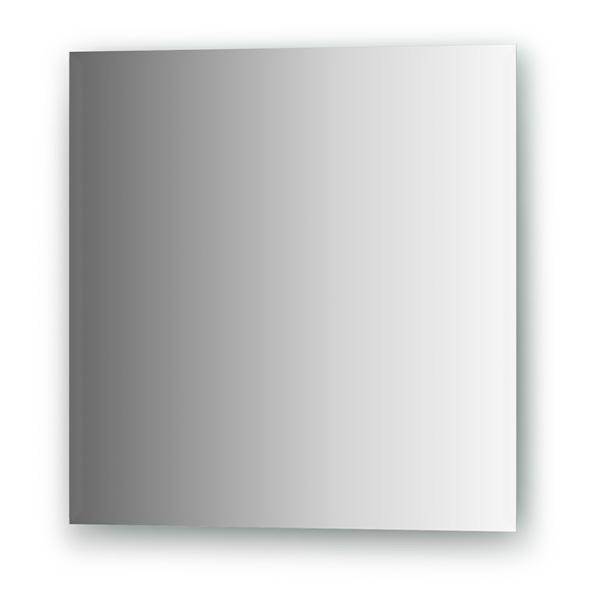Зеркало EvoformЗеркала<br>Высота: 500,<br>Ширина: 500,<br>Форма зеркала: квадрат,<br>Назначение: для ванной, прихожей,<br>Коллекция: COMFORT<br>