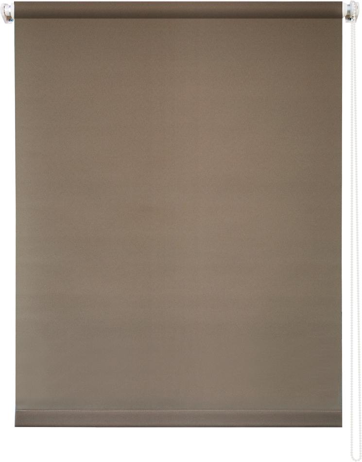 Рулонная штора УЮТРулонные шторы<br>Коллекция: Плайн, Материал: полиэстер, Цвет: коричневый, Размеры: 1600х1750, Ширина: 1600, Высота (см): 175<br>