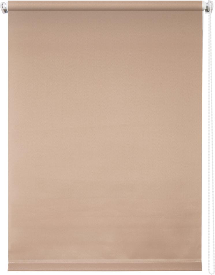 Рулонная штора УЮТРулонные шторы<br>Коллекция: Плайн, Материал: полиэстер, Цвет: коричневый, Размеры: 700х1750, Ширина: 700, Высота (см): 175<br>