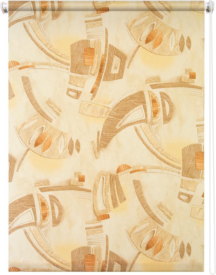 Рулонная штора УЮТРулонные шторы<br>Коллекция: Петра,<br>Материал: полиэстер,<br>Цвет: коричневый,<br>Размеры: 500х1750,<br>Ширина: 500,<br>Высота (см): 175<br>