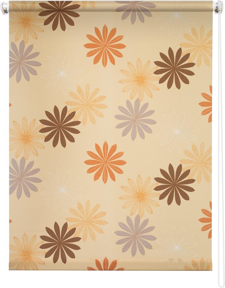 Рулонная штора УЮТРулонные шторы<br>Коллекция: Космея,<br>Материал: полиэстер,<br>Цвет: оранжевый,<br>Размеры: 1000х1750,<br>Ширина: 1000,<br>Высота (см): 175<br>