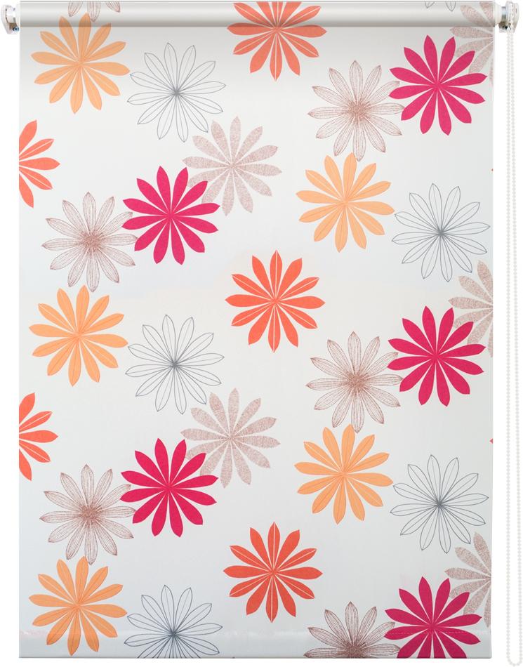 Рулонная штора УЮТРулонные шторы<br>Коллекция: Космея,<br>Материал: полиэстер,<br>Цвет: белый,<br>Размеры: 700х1750,<br>Ширина: 700,<br>Высота (см): 175<br>