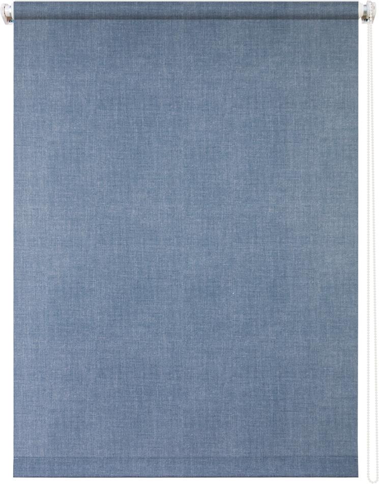 Рулонная штора УЮТРулонные шторы<br>Коллекция: Деним,<br>Материал: полиэстер,<br>Цвет: голубой,<br>Размеры: 900х1750,<br>Ширина: 900,<br>Высота (см): 175<br>
