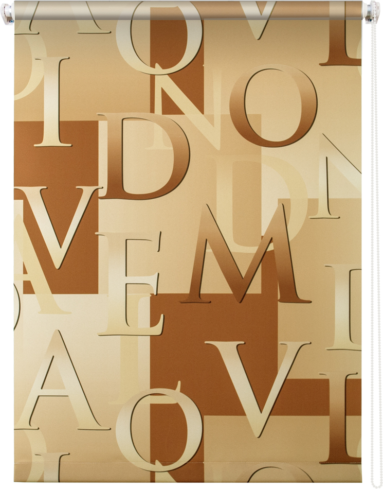 Рулонная штора УЮТРулонные шторы<br>Коллекция: Скрипт,<br>Материал: полиэстер,<br>Цвет: бежевый,<br>Размеры: 1000х1750,<br>Ширина: 1000,<br>Высота (см): 175<br>