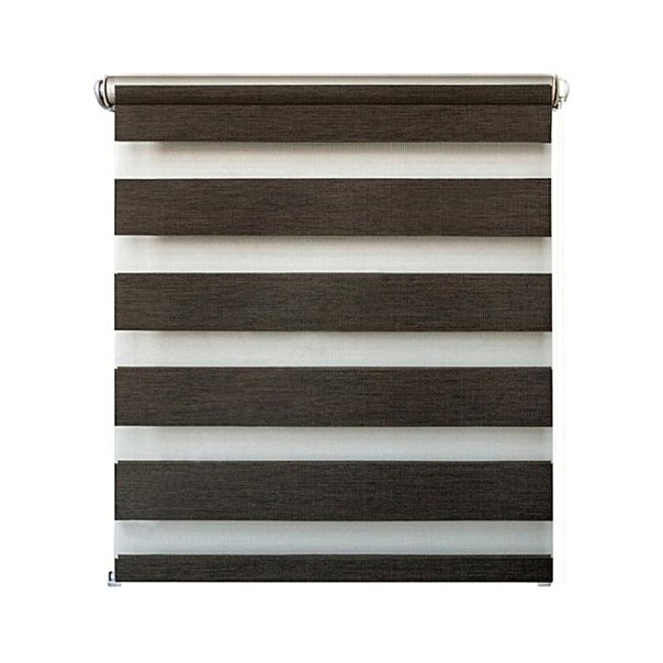 Рулонная штора УЮТРулонные шторы<br>Коллекция: Канзас, Материал: полиэстер, Цвет: коричневый, Размеры: 1200х1600, Ширина: 1200, Высота (см): 160, Зебра/день-ночь: есть<br>