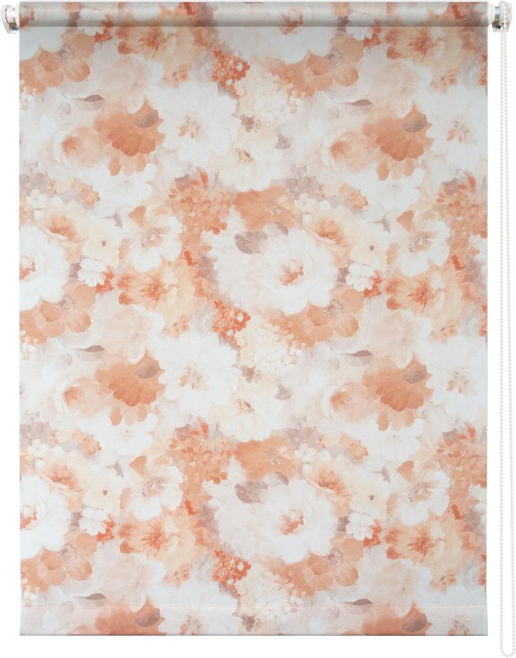 Рулонная штора УЮТРулонные шторы<br>Коллекция: Пионы, Материал: полиэстер, Цвет: бежевый, Размеры: 1800х1750, Ширина: 1800, Высота (см): 175<br>