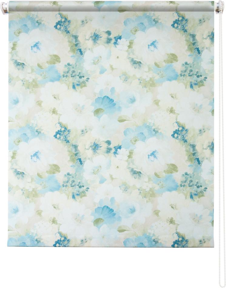 Рулонная штора УЮТРулонные шторы<br>Коллекция: Пионы,<br>Материал: полиэстер,<br>Цвет: голубой,<br>Размеры: 1000х1750,<br>Ширина: 1000,<br>Высота (см): 175<br>