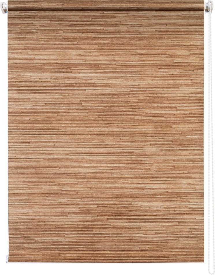 Рулонная штора УЮТ 100х175 Натурэль коричневый