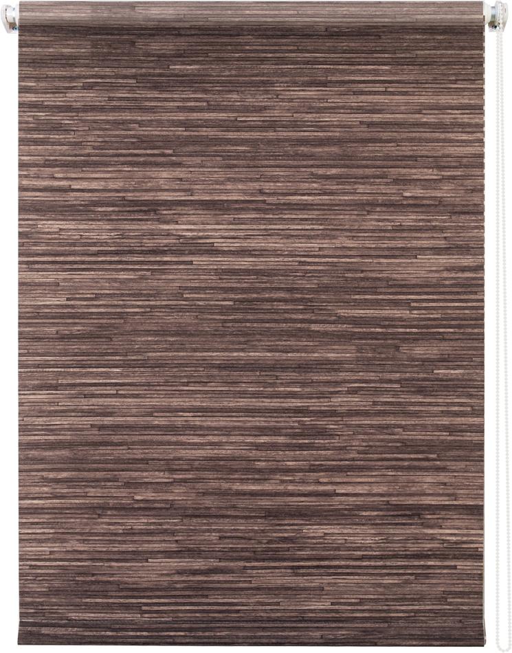 Рулонная штора УЮТРулонные шторы<br>Коллекция: Натурэль,<br>Материал: полиэстер,<br>Цвет: коричневый,<br>Размеры: 800х1750,<br>Ширина: 800,<br>Высота (см): 175<br>