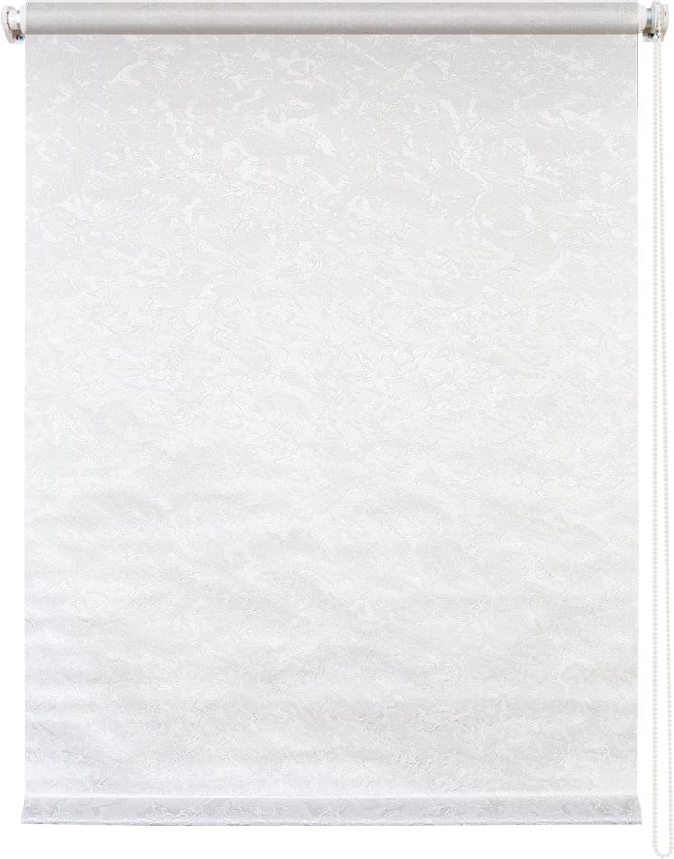 Рулонная штора УЮТРулонные шторы<br>Коллекция: Фрост,<br>Материал: полиэстер,<br>Цвет: белый,<br>Размеры: 500х1750,<br>Ширина: 500,<br>Высота (см): 175<br>