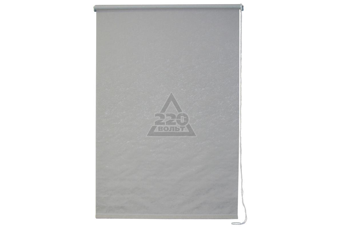 Рулонная штора УЮТРулонные шторы<br>Коллекция: Фрост,<br>Материал: полиэстер,<br>Цвет: серый,<br>Размеры: 400х1750,<br>Ширина: 400,<br>Высота (см): 175<br>
