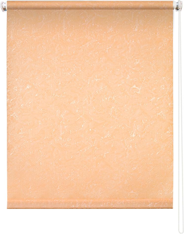 Рулонная штора УЮТРулонные шторы<br>Коллекция: Фрост, Материал: полиэстер, Цвет: оранжевый, Размеры: 600х1750, Ширина: 600, Высота (см): 175<br>